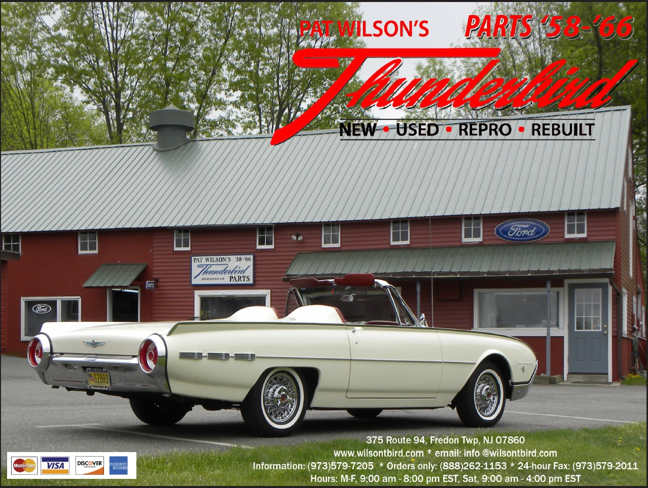 Pat Wilson's Thunderbird Parts 2019 Catalog