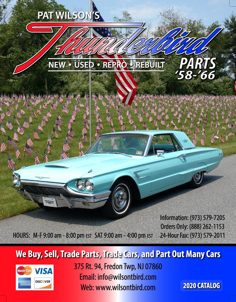 Pat Wilson S Thunderbird Parts