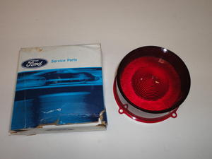 60 tail light lens red